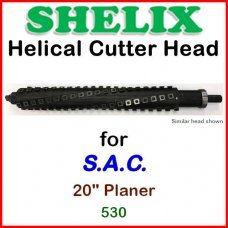 SHELIX for S.A.C. 20'' Planer, 530
