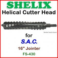 SHELIX for S.A.C. 16'' Jointer, FS-430
