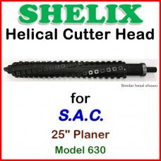 SHELIX for S.A.C. 25'' Planer, Model 630