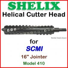 SHELIX for SCMI 16'' Jointer, Model 410