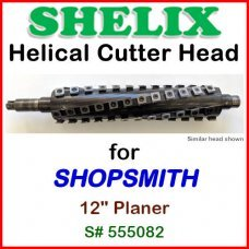 SHELIX for SHOPSMITH 12'' Planer, Serial 555082