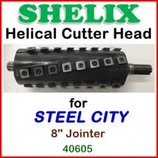 SHELIX for STEEL CITY 8'' Jointer, 40605