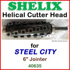 SHELIX for STEEL CITY 6'' Jointer, Model 40635