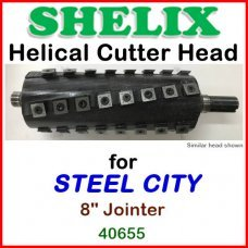 SHELIX for STEEL CITY 8'' Jointer, 40655