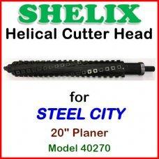 SHELIX for STEEL CITY 20'' Planer, Model 40270