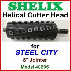 SHELIX for STEEL CITY 8'' Jointer, Model 40605