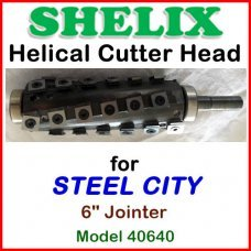 SHELIX for STEEL CITY 6'' Jointer, Model 40640