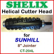 SHELIX for SUNHILL 8'' Jointer, CT-204L