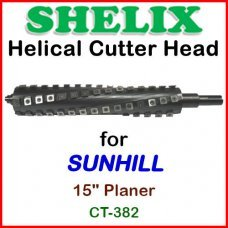 SHELIX for SUNHILL 15'' Planer, CT-382