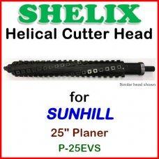 SHELIX for SUNHILL 25'' Planer, P-25EVS