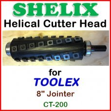 SHELIX for TOOLEX 8'' Jointer, CT-200