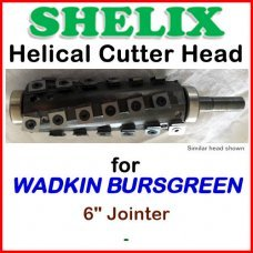 SHELIX for WADKIN 6'' Jointer