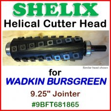 SHELIX for WADKIN BURSGREEN 9.25'' Jointer, #9BFT681865