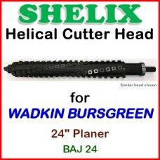 SHELIX for WADKIN BURSGREEN 24'' Planer, BAJ 24