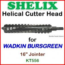 SHELIX for WADKIN 16'' Jointer, KT556