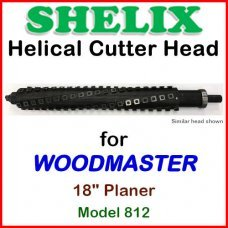 SHELIX for WOODMASTER 18'' Planer, Model 812