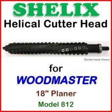 SHELIX for WOODMASTER 18'' Planer, Model 812
