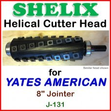 SHELIX for YATES AMERICAN 8'' Jointer, J-131