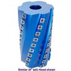 "Titan Spiral Shaper Head, Bore: 40mm, Length: 8"" (200mm), Diameter: 125mm"